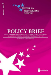 Policy Brief / Analize CMO 2