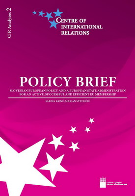 Policy Brief / CIR Analyses 2